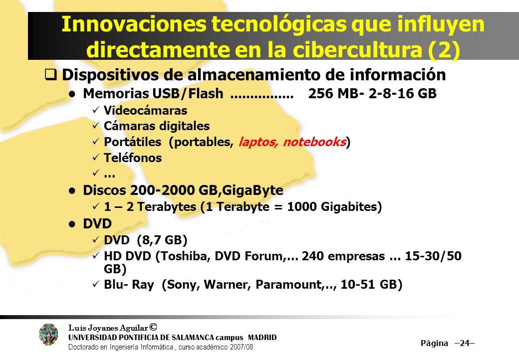 Innovaciones tecnológicas que influyen directamente en la cibercultura (2)