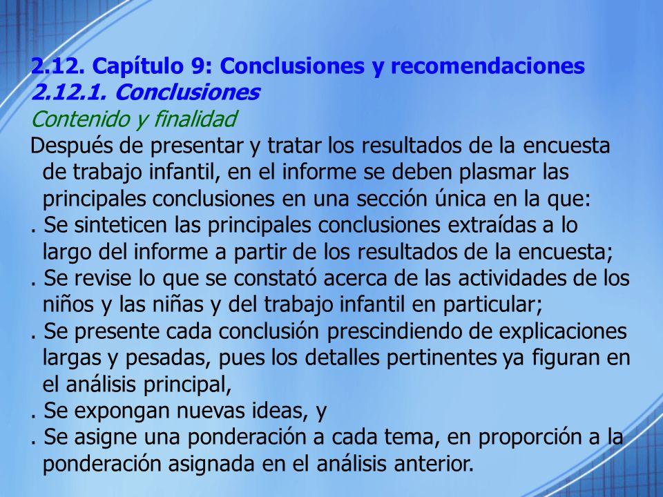 2.12. Capítulo 9: Conclusiones y recomendaciones