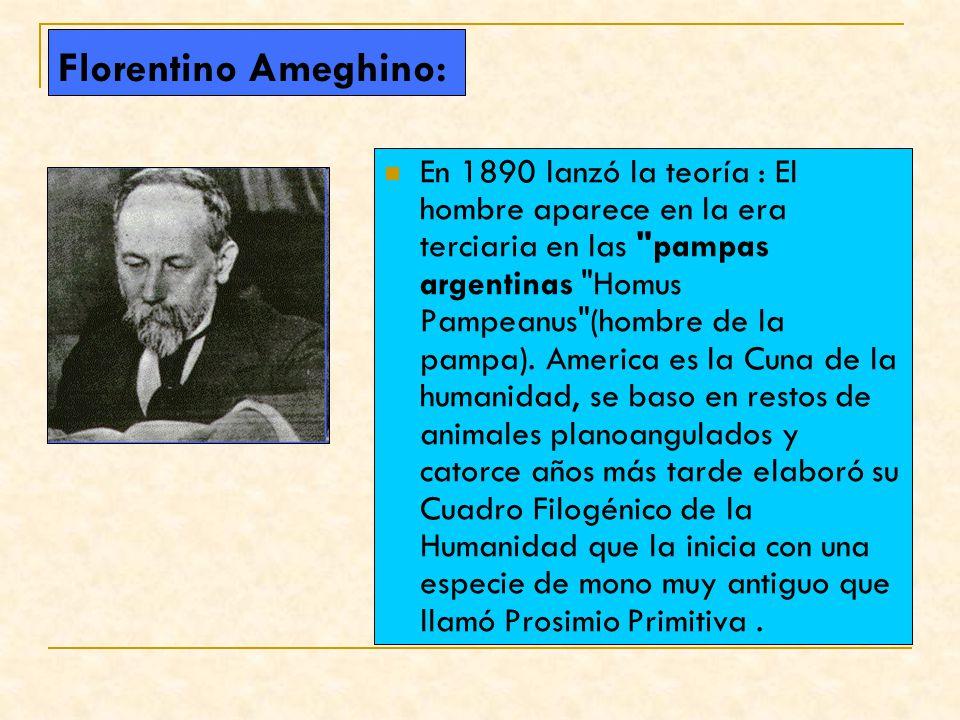 Florentino Ameghino: