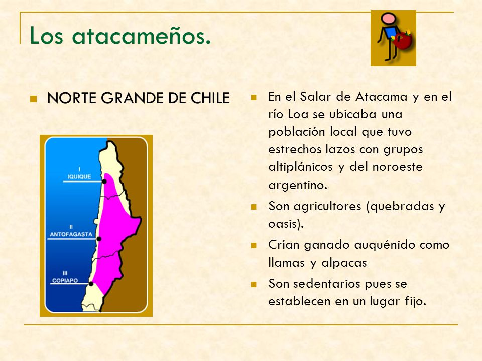 Los atacameños. NORTE GRANDE DE CHILE