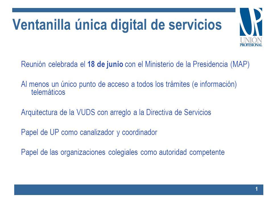 Ventanilla única digital de servicios