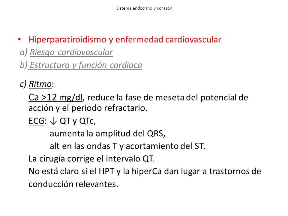 Sistema endocrino y corazón
