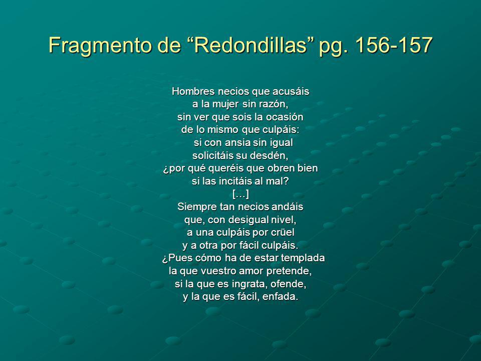 Fragmento de Redondillas pg. 156-157