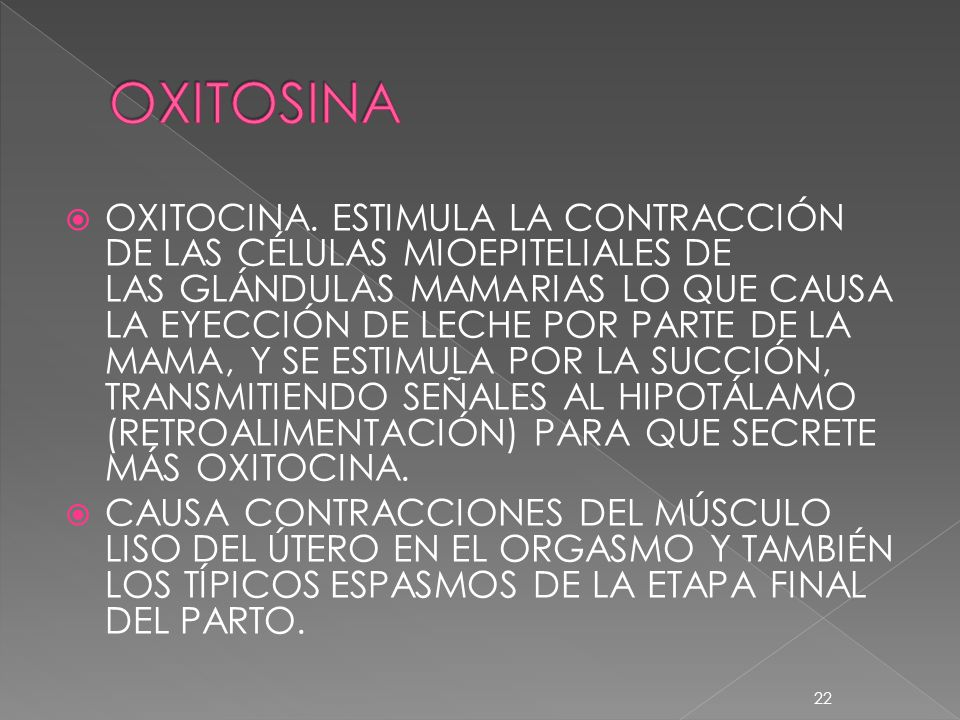 OXITOSINA