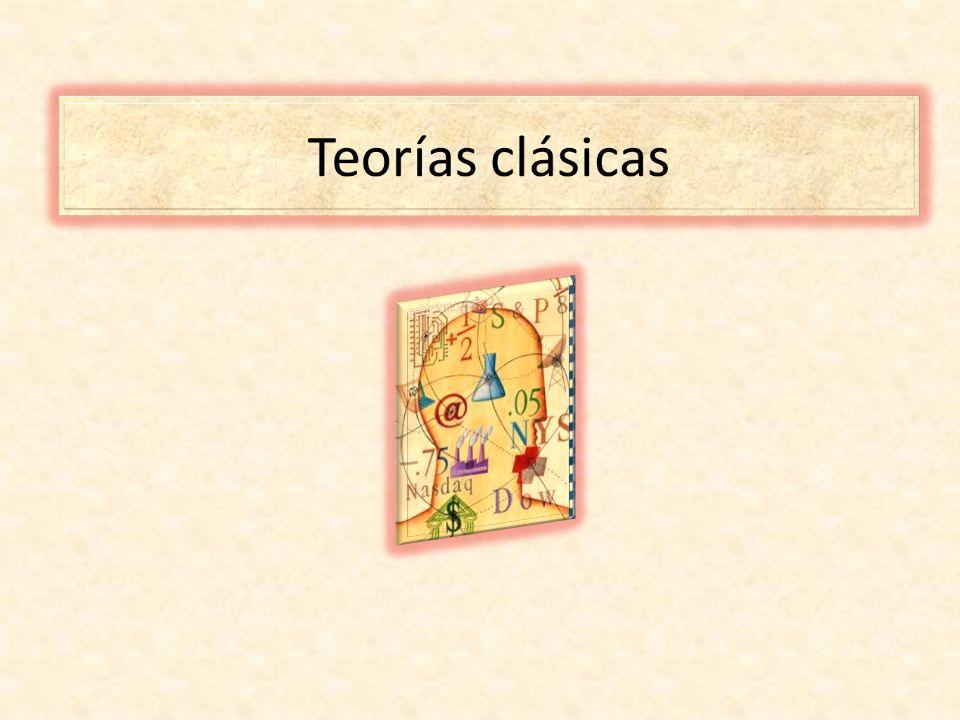Teorías clásicas