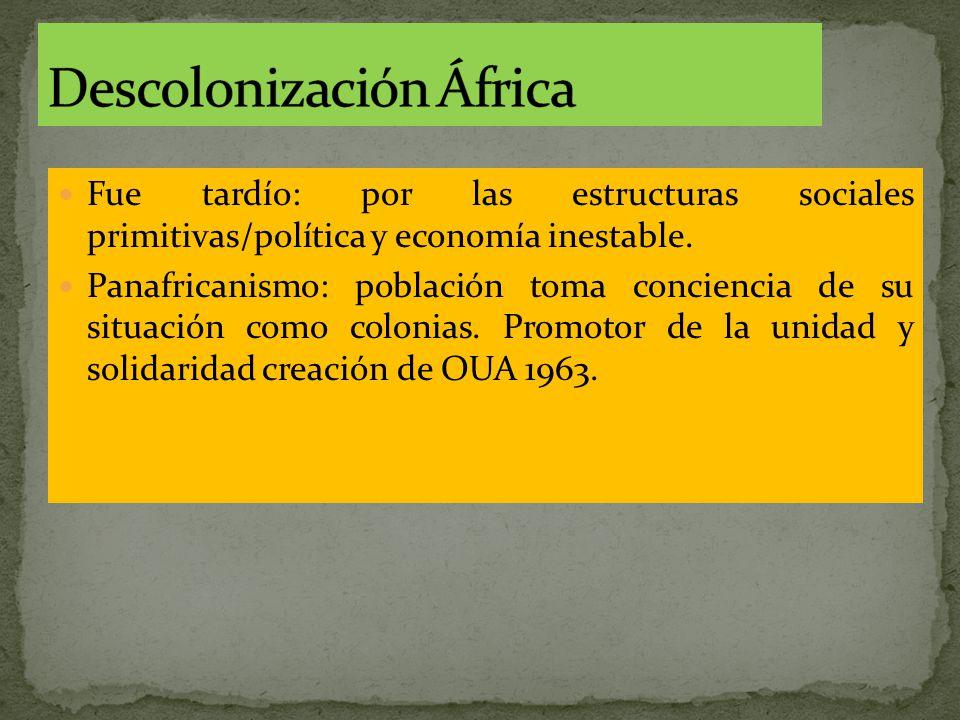 Descolonización África
