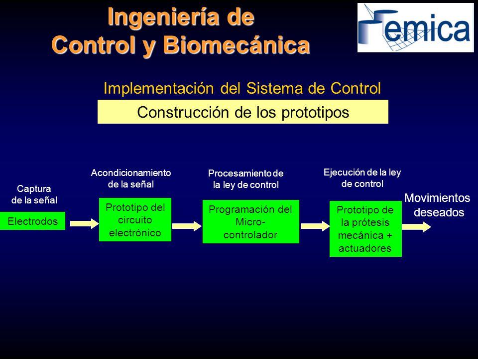 Ingeniería de Control y Biomecánica