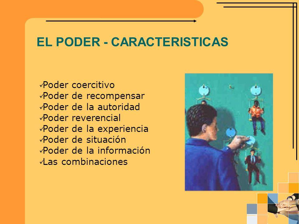 EL PODER - CARACTERISTICAS