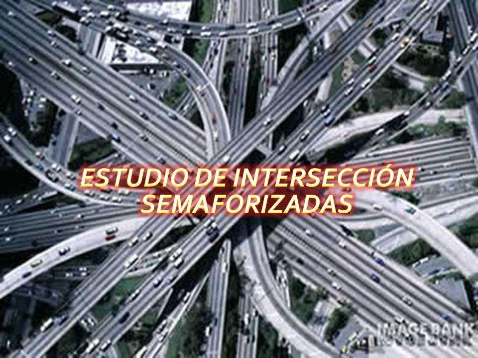 ESTUDIO DE INTERSECCIÓN SEMAFORIZADAS