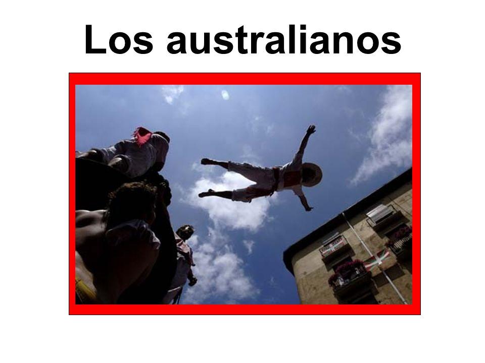 Los australianos