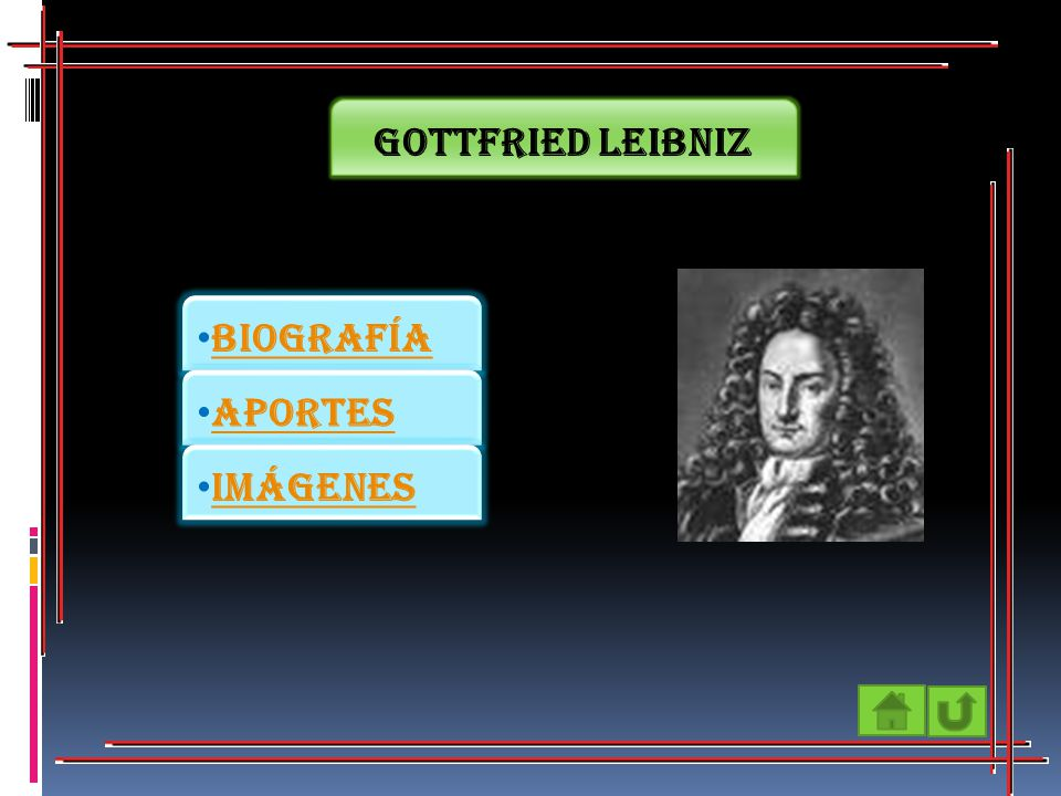 Gottfried Leibniz Biografía Aportes Imágenes