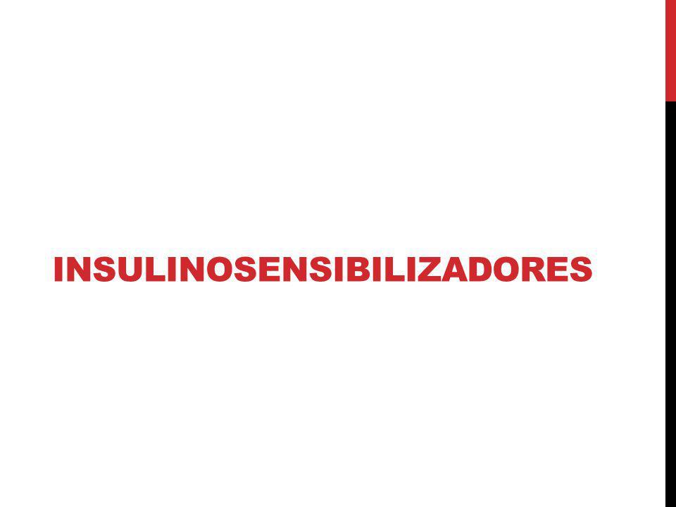 Insulinosensibilizadores
