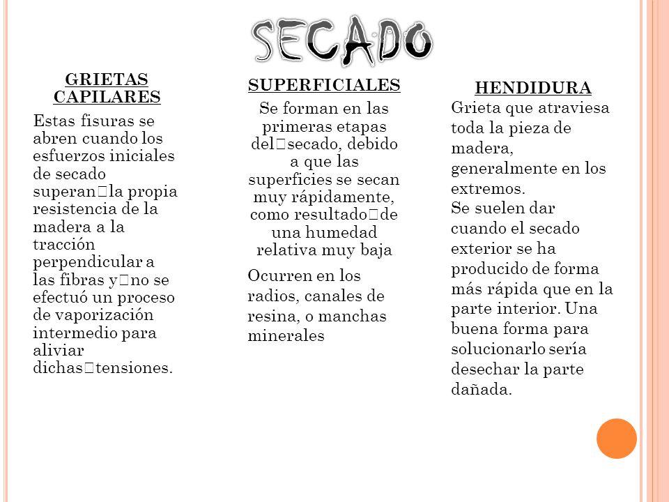 SECADO GRIETAS CAPILARES