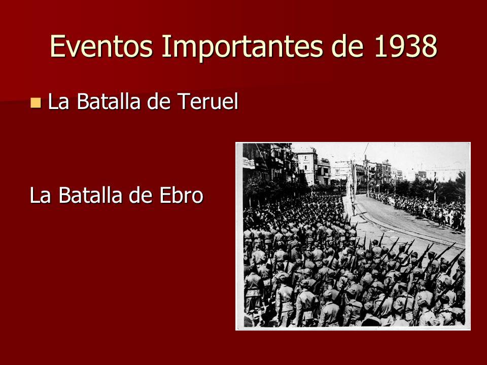 Eventos Importantes de 1938