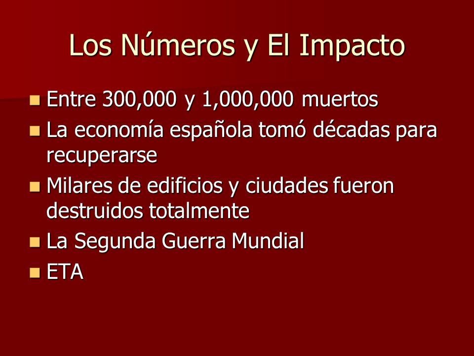Los Números y El Impacto