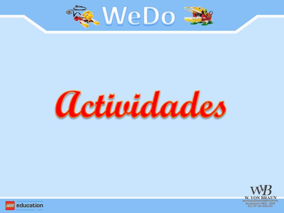 WeDo Actividades