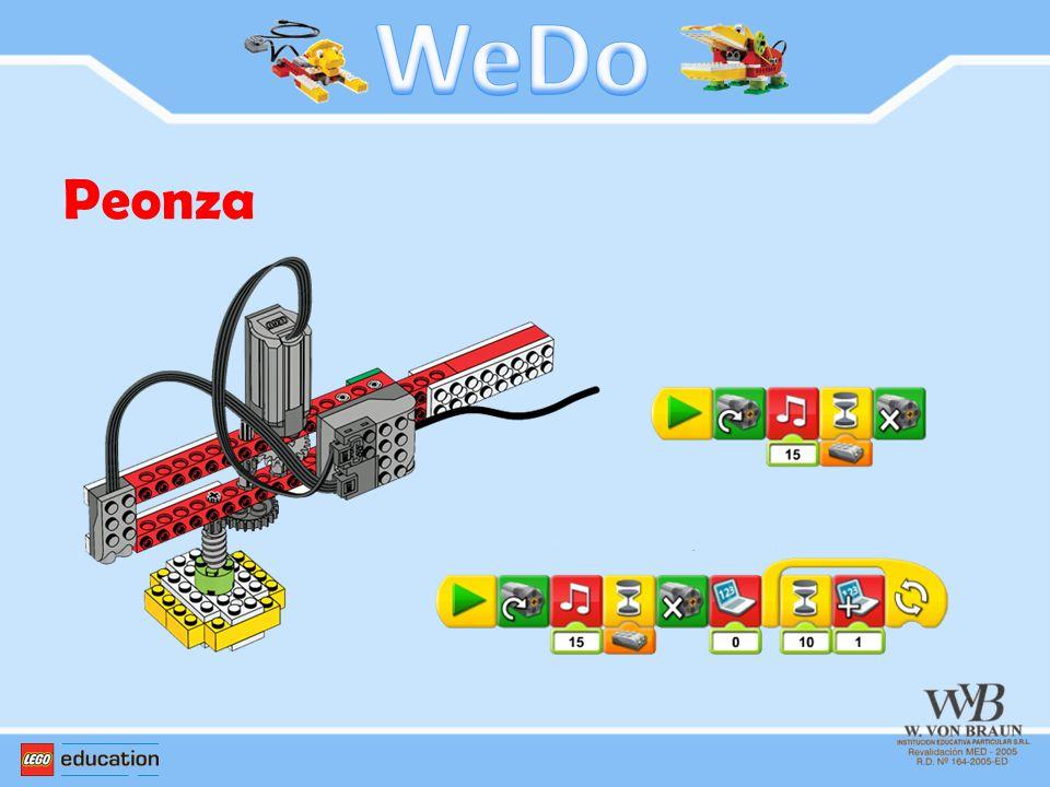 WeDo Peonza