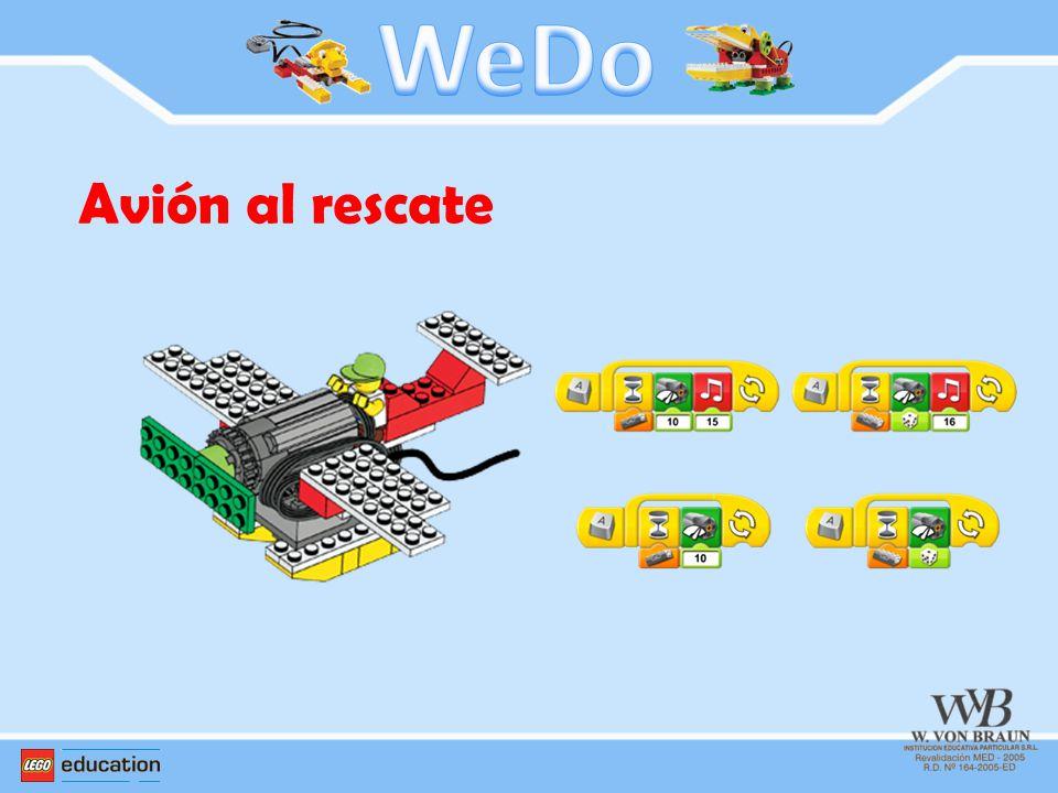 WeDo Avión al rescate