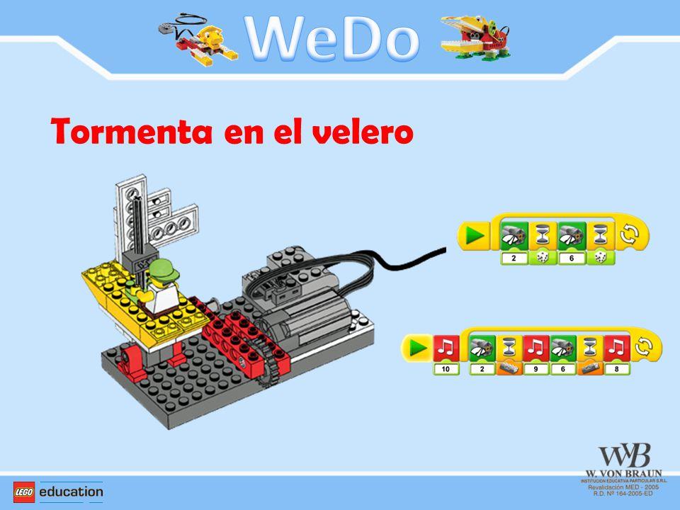 WeDo Tormenta en el velero
