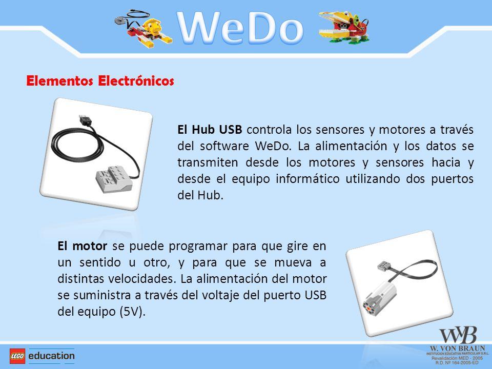 WeDo Elementos Electrónicos