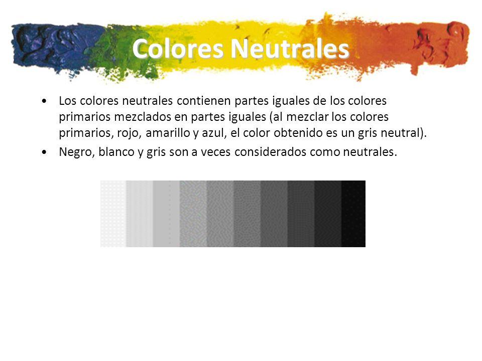 Colores Neutrales