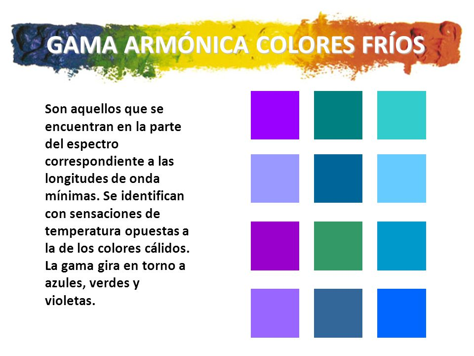 Teor a del color ppt descargar - Gama de colores calidos ...