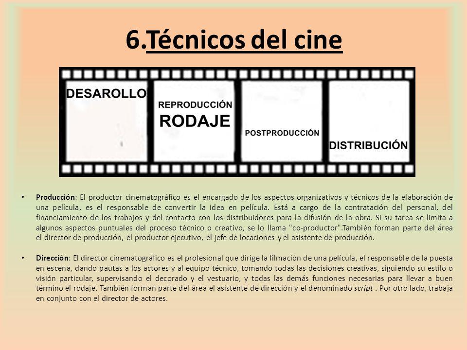 6.Técnicos del cine