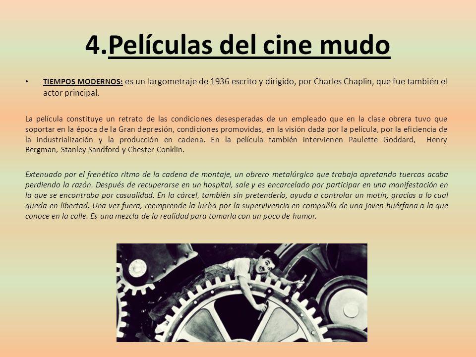 4.Películas del cine mudo