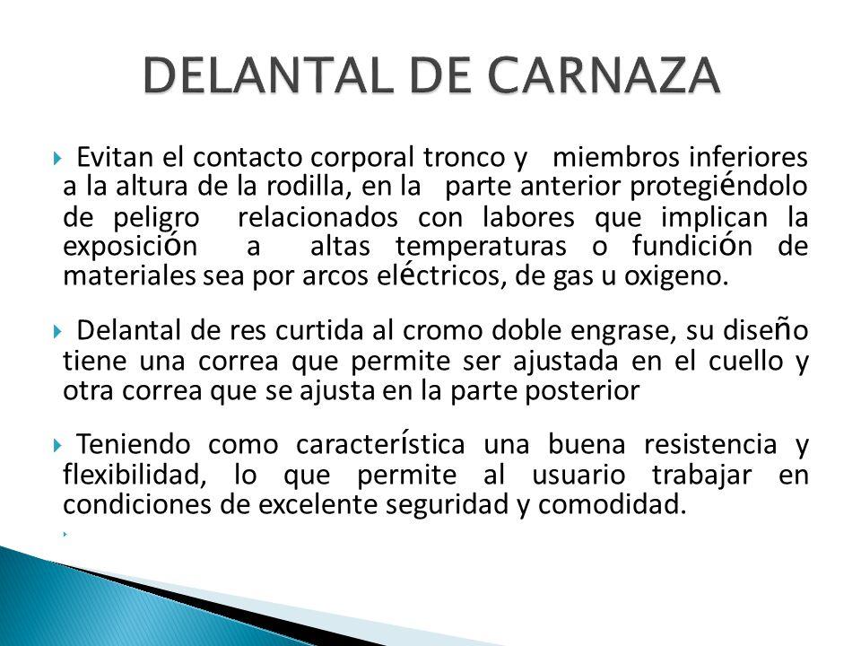 DELANTAL DE CARNAZA