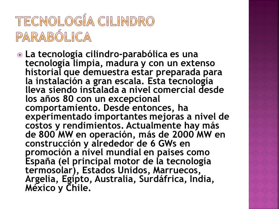 TECNOLOGÍA CILINDRO PARABÓLICA