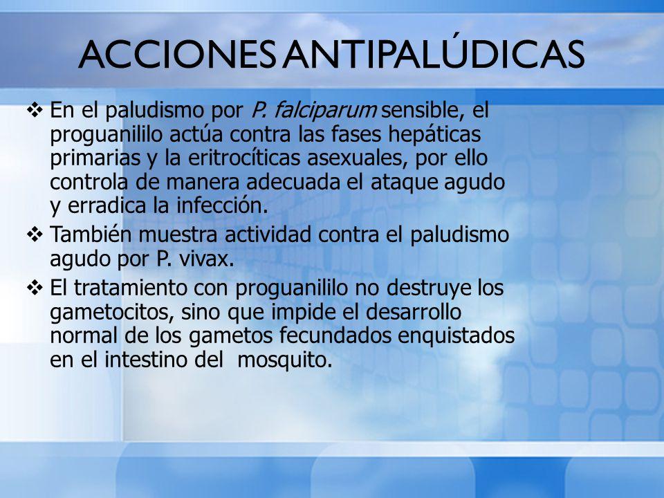 ACCIONES ANTIPALÚDICAS