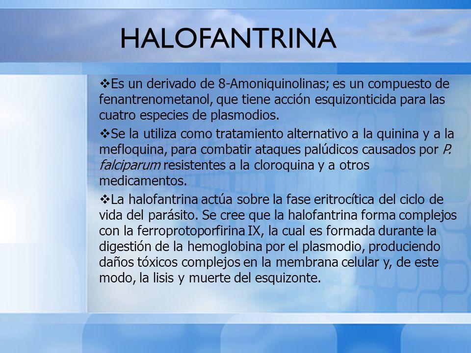 HALOFANTRINA