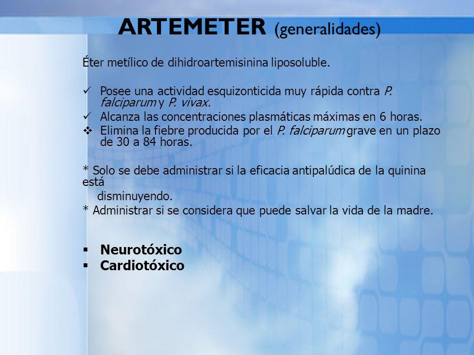 ARTEMETER (generalidades)