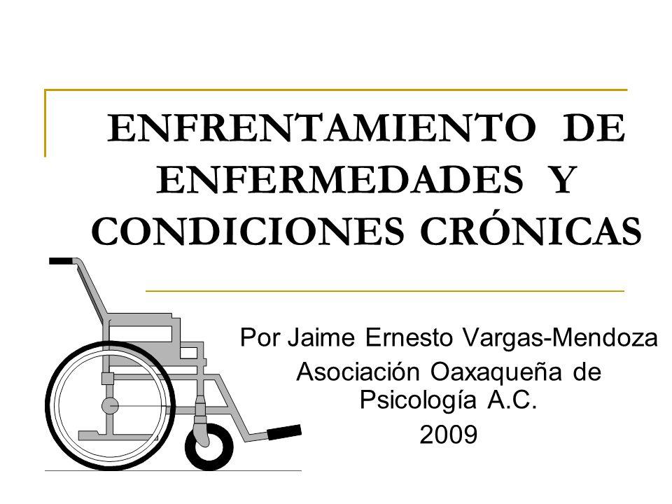 ENFRENTAMIENTO DE ENFERMEDADES Y CONDICIONES CRÓNICAS