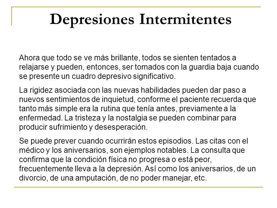 Depresiones Intermitentes