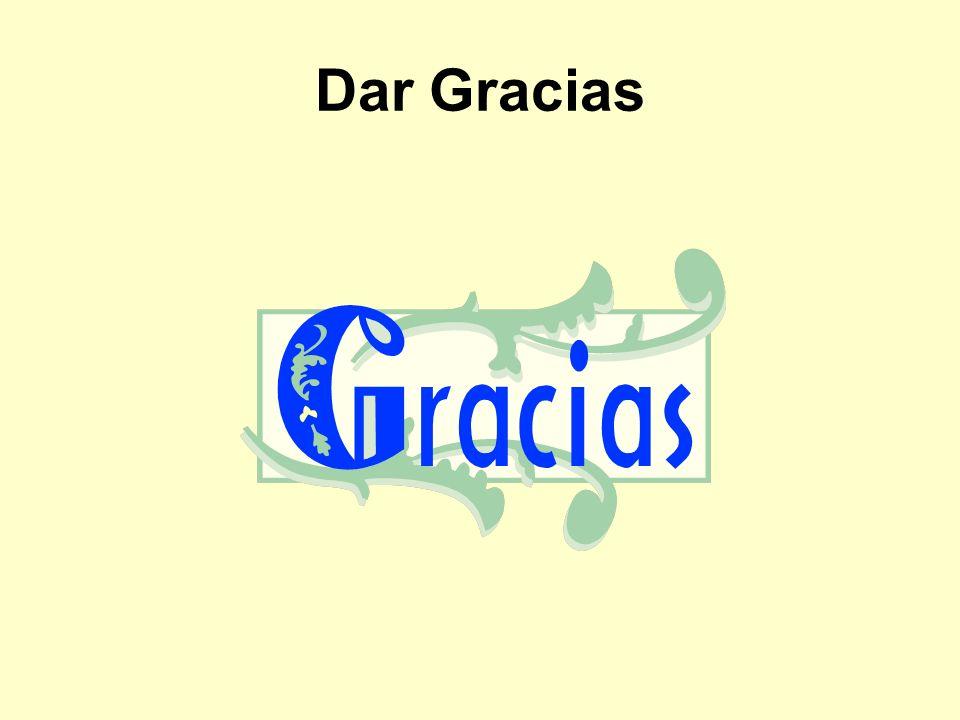 Dar Gracias