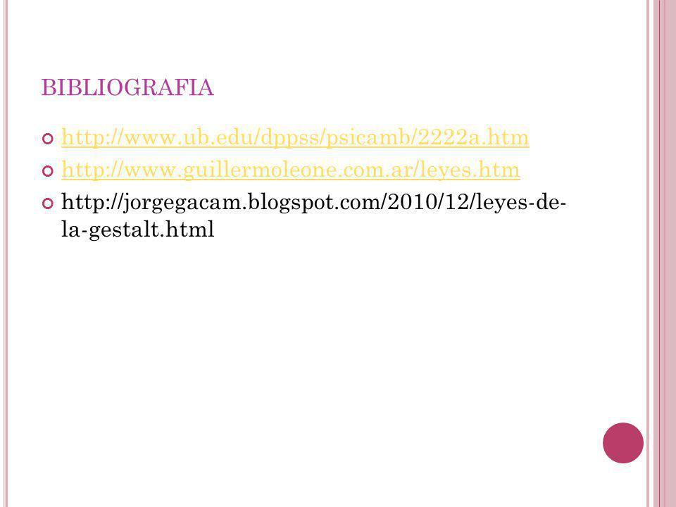 bibliografia http://www.ub.edu/dppss/psicamb/2222a.htm