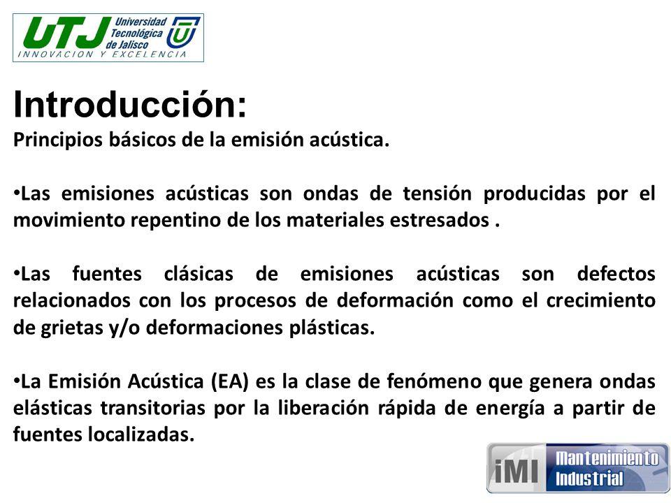 Introducción: Principios básicos de la emisión acústica.