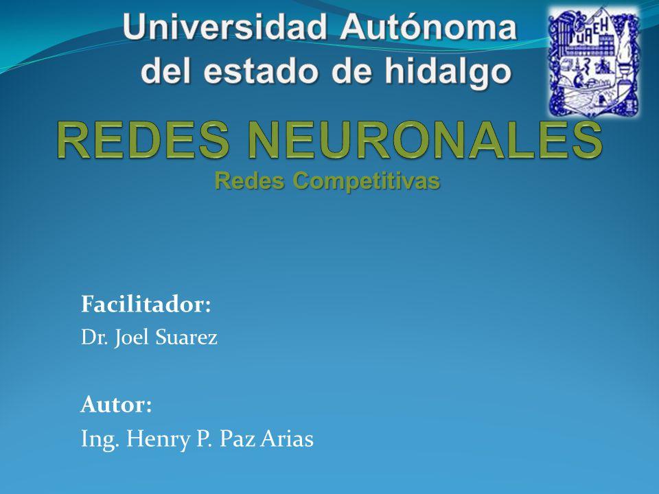 REDES NEURONALES Universidad Autónoma del estado de hidalgo