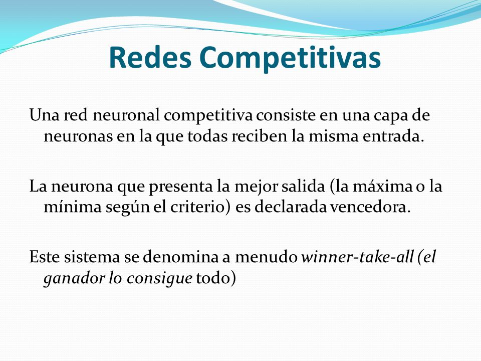 Redes Competitivas