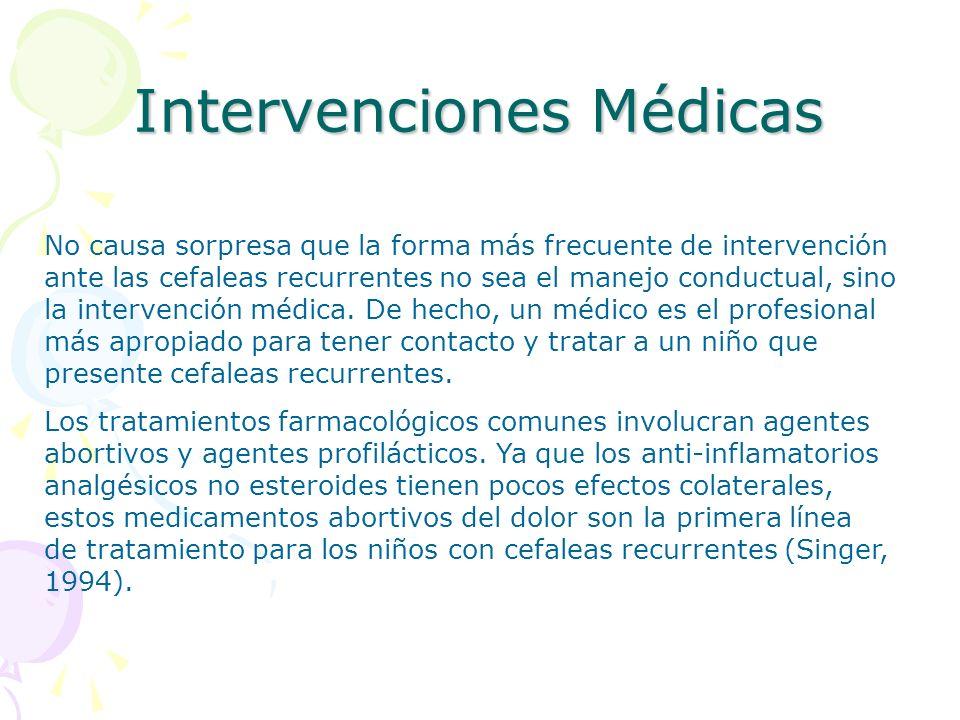 Intervenciones Médicas
