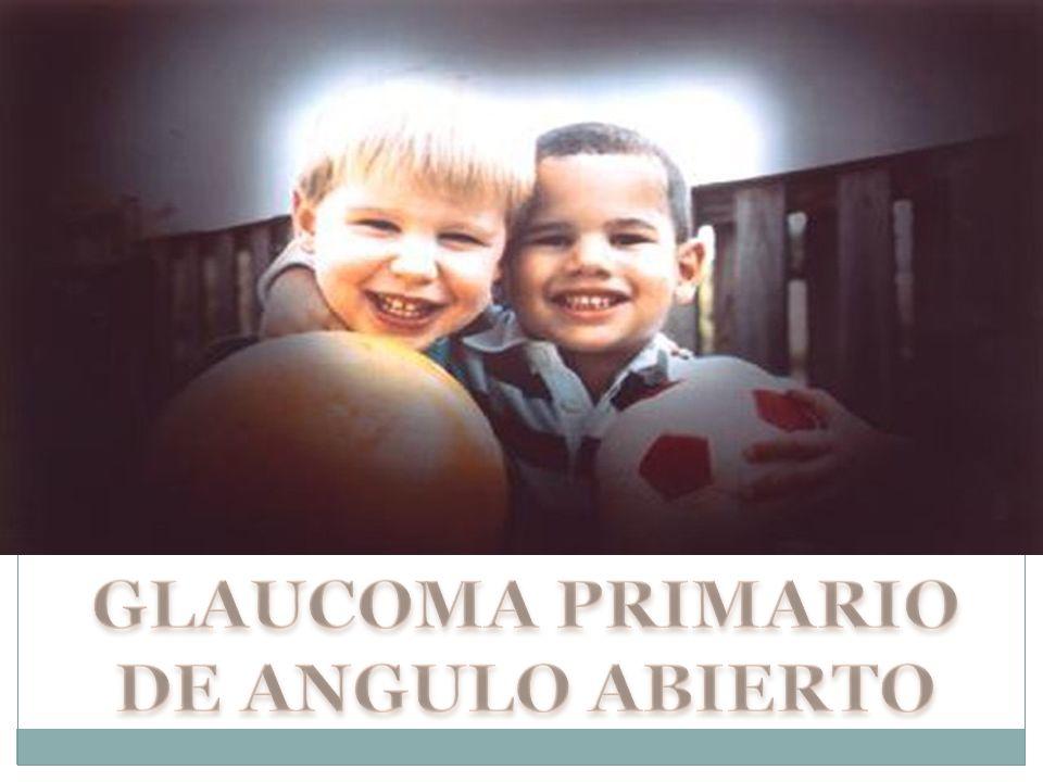 GLAUCOMA PRIMARIO DE ANGULO ABIERTO