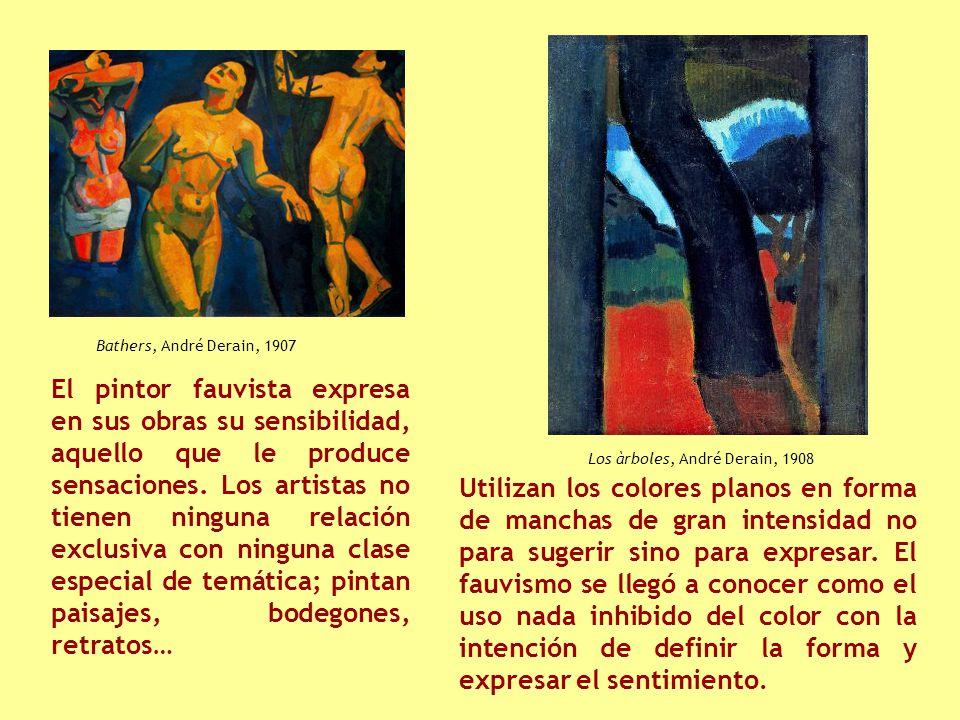 Bathers, André Derain, 1907