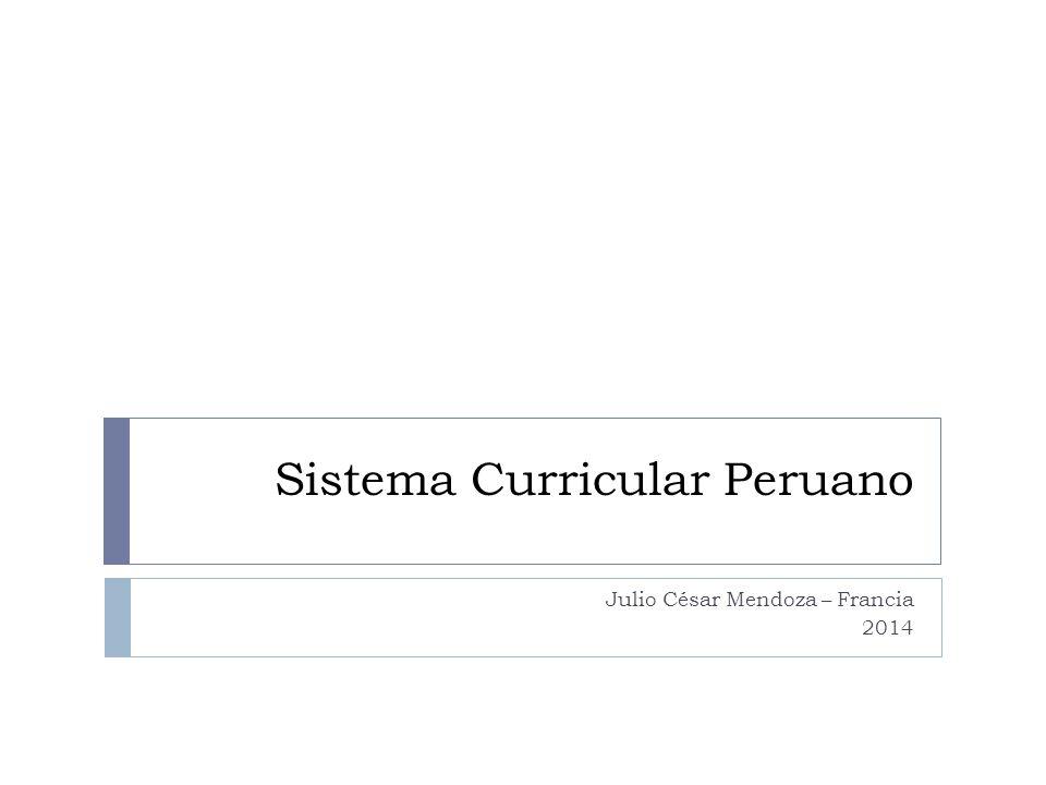 Sistema Curricular Peruano