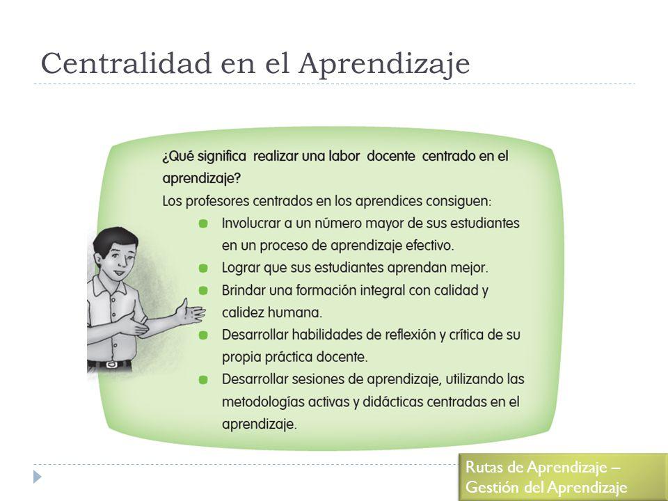 Centralidad en el Aprendizaje