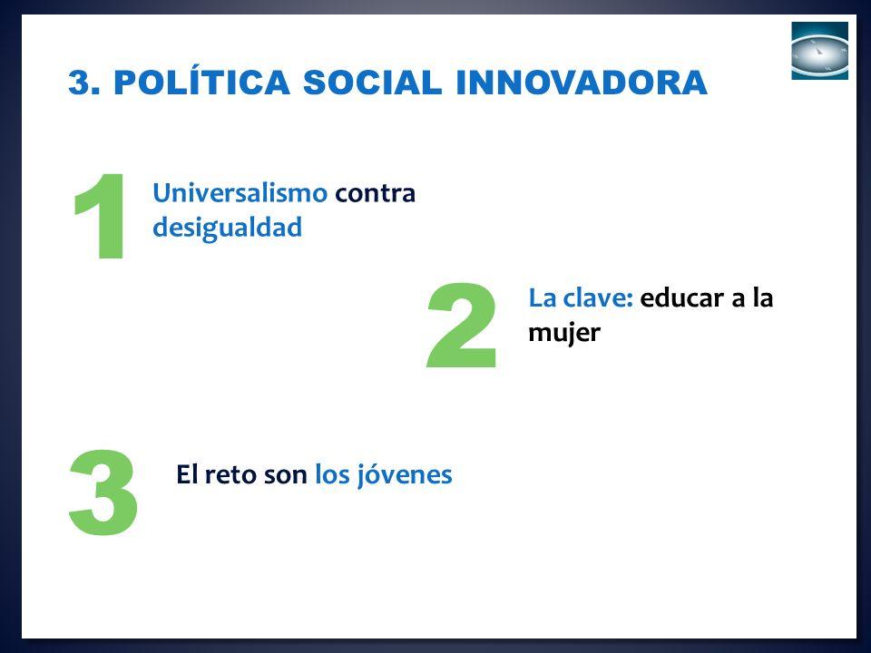 3. Política social innovadora