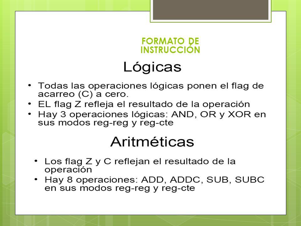 FORMATO DE INSTRUCCIÓN