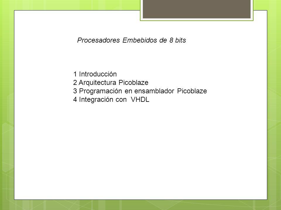 Procesadores Embebidos de 8 bits