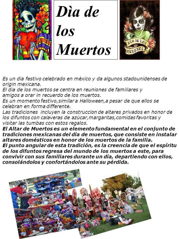 Es un dia festivo celebrado en mèxico y da algunos stadounidenses de origin mexicana.