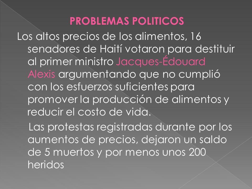PROBLEMAS POLITICOS